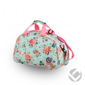 Hockey Taschen - Schultertaschen -  kopen - Brabo Schultertasche Blumen Pink