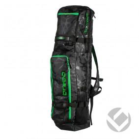 Schlägertaschen - Hockey Taschen -  kopen - Brabo Schlägertasche TeXtreme Schwarz/Lime