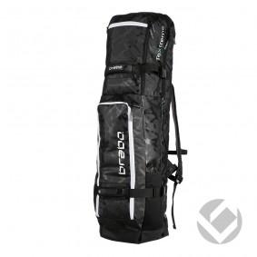Schlägertaschen - Hockey Taschen -  kopen - Brabo Schlägertasche TeXtreme Schwarz/Weiß