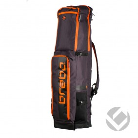 Schlägertaschen - Hockey Taschen -  kopen - Brabo Schlägertasche Traditional Schwarz/Orange
