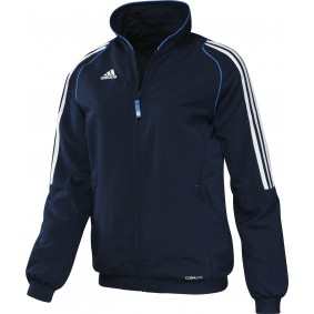 Hockey Kleidung - Hockey Trainingsjacken - Hockeyschläger Outlet - kopen - Adidas T12 Jacke Frauen Blau (AKTION)