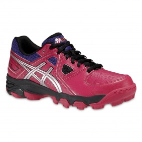 Junior Hockeyschuhe - Kunstrasenschuhe - Hockeyschuhe - Asics Hockeyschuhe - Hockeyschläger Outlet -  kopen - Asics Gel-Blackheath 5 GS Junior Rosa/Violett (AKTION)
