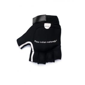 Schutz - Hockeyhandschuhe -  kopen - The Indian Maharadja Shell Handschuh Schwarz