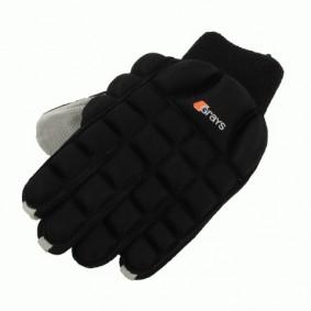 Schutz - Hockeyhandschuhe -  kopen - Grays Magno Handschuh Hallen Schwarz