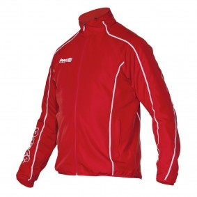 Hockey Trainingsjacken - Hockey Kleidung - Hockeyschläger Outlet -  kopen - Reece Creswell gewebt Jacke unisex Rot senior (AKTION)