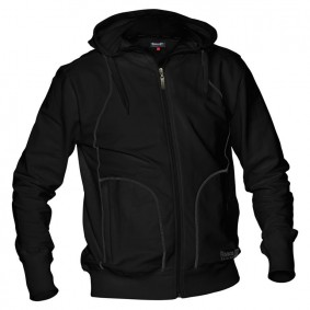 Hockey Pullover - Reece Australia - Hockey Kleidung - Hockeyschläger Outlet -  kopen - Reece verdeckt Sweat Reißverschluss unisex Schwarz SR