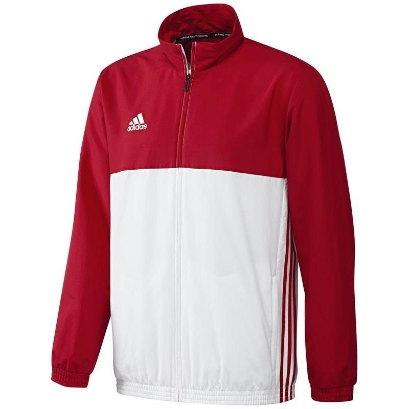 adidas T16 Trainingsjacke Herren Rot, Weiß