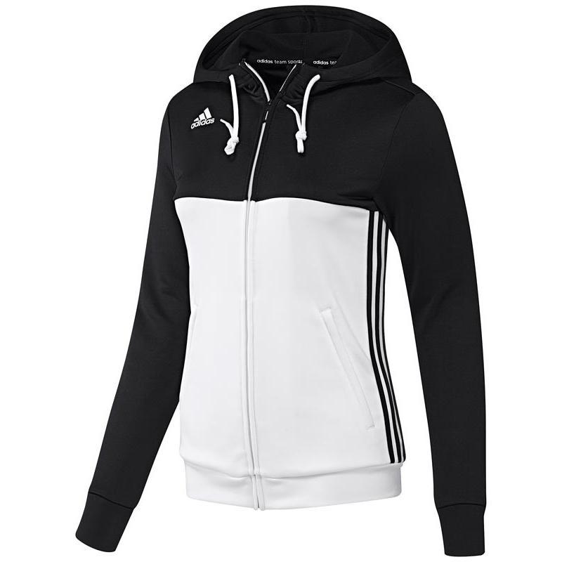 Adidas T16 Hoody Frauen Schwarz DISCOUNT DEALS