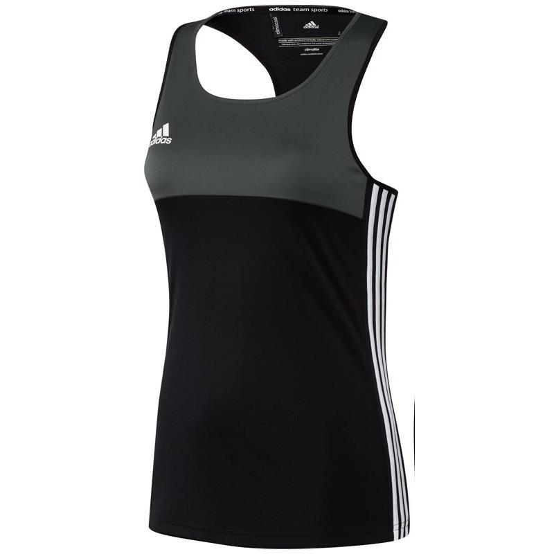 Adidas T16 Climacool ärmellos Tee Frauen Schwarz DISCOUNT DEALS