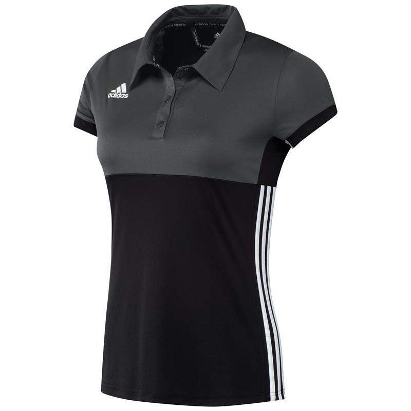 Adidas T16 Climacool Poloshirt Frauen Schwarz DISCOUNT DEALS