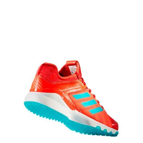 Billig Deutschland Adidas Hockey Lux rotBlau Schuhe Kinder