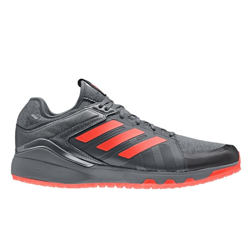 official photos 87a57 254f2 Adidas Lux 1.9S Core Schwarz  Solar Rot