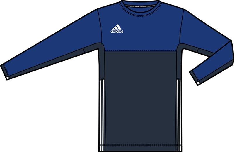 Adidas T16 Climacool lang Ärmel Tee Jugend Jungen Navy