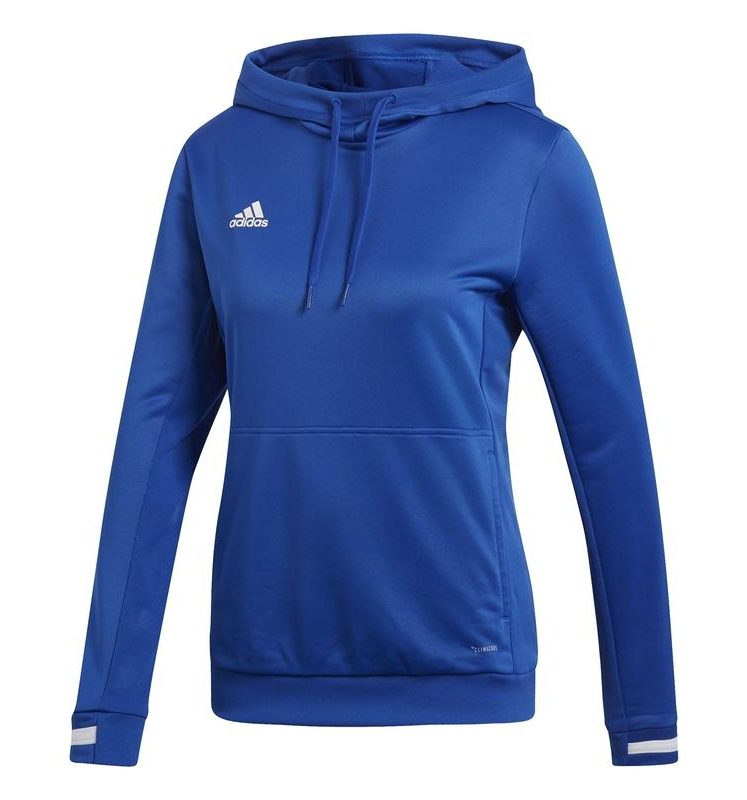 los angeles a9605 1b61c Adidas T19 Hoody Damen Royal Blau