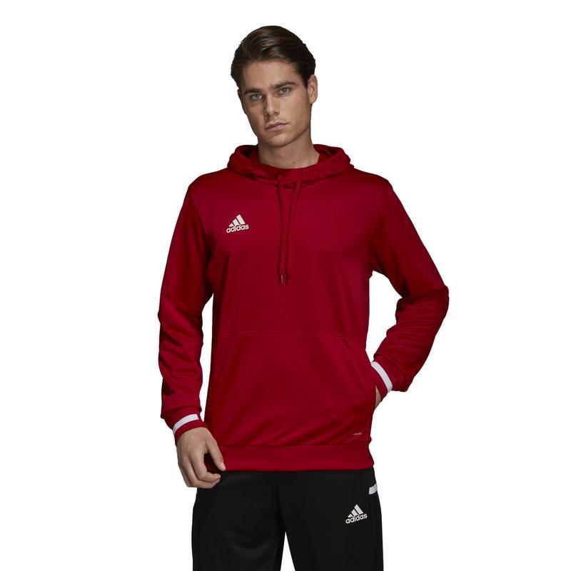 Adidas T19 Hoody Herren Rot Kapuzenpullover kaufen?